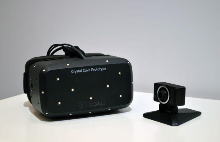 Oculus VR crystal cove